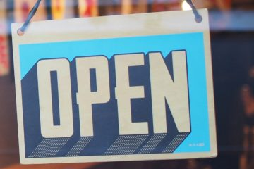 Open Small Business Sign